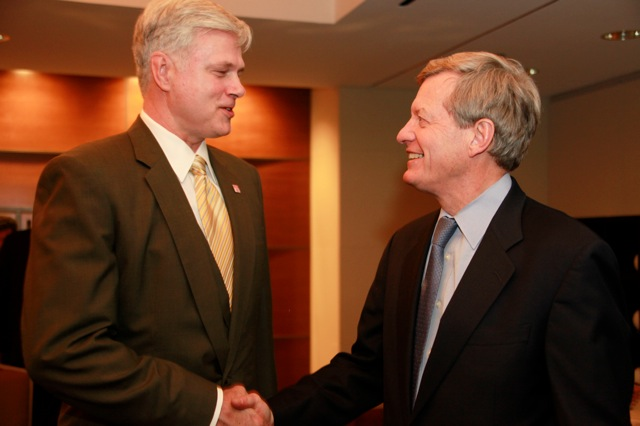 Sen. Baucus Reception