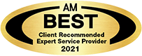 AM Best client recommended expert service Provider 2021